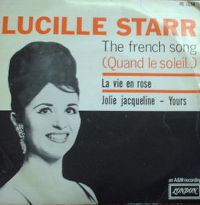 Cover Lucille Starr - The French Song (Quand le soleil dit bonjour aux montagnes)