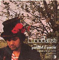 Cover Lucio Battisti - Pensieri e parole