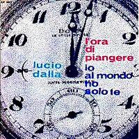 Cover Lucio Dalla - L'ora di piangere