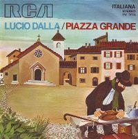 Cover Lucio Dalla - Piazza Grande