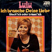 Cover Lulu - Ich brauche deine Liebe