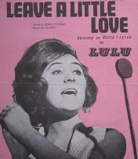 Cover Lulu - Leave A Little Love