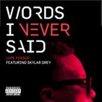 Cover Lupe Fiasco feat. Skylar Grey - Words I Never Said
