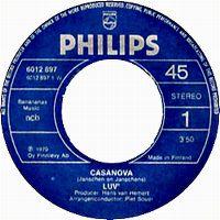 Cover Luv' - Casanova