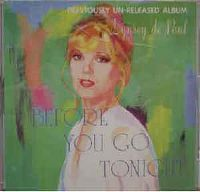 Cover Lynsey De Paul - Before You Go Tonight