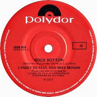 Cover Lynsey De Paul & Mike Moran - Rock Bottom