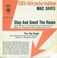 Cover Mac Davis - Stop And Smell The Roses