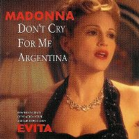 Cover Madonna - Don't Cry For Me Argentina