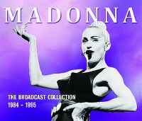 Cover Madonna - The Broadcast Collection 1984-1995