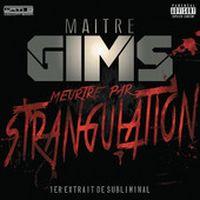Cover Maître Gims - Meurtre par strangulation