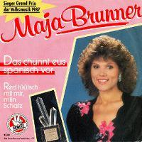 Cover Maja Brunner - Das chunnt eus spanisch vor