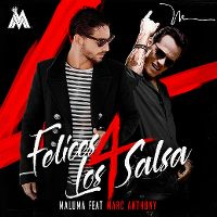 Cover Maluma feat. Marc Anthony - Felices los 4 Salsa