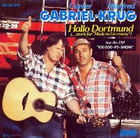 Cover Manfred Krug + Gunter Gabriel - Hallo Dortmund