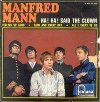 Cover Manfred Mann - Ha! Ha! Said The Clown