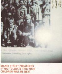Cover Manic Street Preachers - If You Tolerate This Your Children Will Be Next