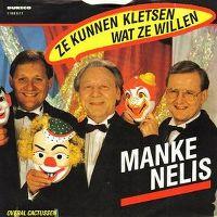 Cover Manke Nelis - Ze kunnen kletsen wat ze willen