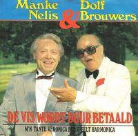 Cover Manke Nelis & Dolf Brouwers - De vis wordt duur betaald