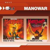 Cover Manowar - 2 In 1: Kings Of Metal / The Triumph Of Steel