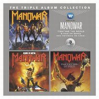 Cover Manowar - The Triple Album Collection