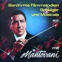 Cover Mantovani - Berühmte Filmmelodien Schlager und Musicals