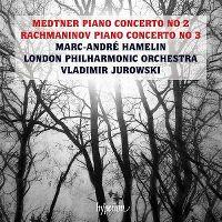Cover Marc-André Hamelin / London Philharmonic Orchestra / Vladimir Jurowski - Medtner Piano Concerto No 2 - Rachmaninov Piano Concerto No 3