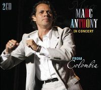 Cover Marc Anthony - In Concert - From Colombia
