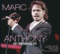 Cover Marc Anthony - Live From New York City