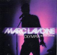 Cover Marc Lavoine - Olympia deuxmilletrois