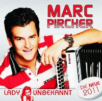 Cover Marc Pircher - Lady Unbekannt