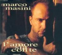 Cover Marco Masini - L'amore sia con te