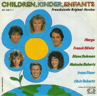 Cover Margo, Franck Olivier, Diane Solomon, Malcolm Roberts, Ireen Sheer & Chris Roberts - Children, Kinder, Enfants