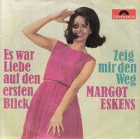 Cover Margot Eskens - Es war Liebe auf den ersten Blick
