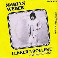 Cover Marian Weber - Lekker troeleke