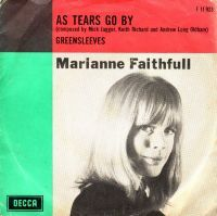 Cover Marianne Faithfull - As Tears Go By