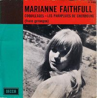 Cover Marianne Faithfull - Coquillages