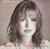 Cover Marianne Faithfull - Dangerous Acquaintances
