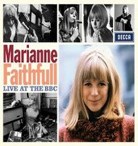 Cover Marianne Faithfull - Live At The BBC