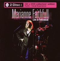 Cover Marianne Faithfull - Live In Hollywood