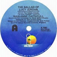 Cover Marianne Faithfull - The Ballad Of Lucy Jordan