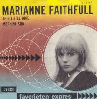 Cover Marianne Faithfull - This Little Bird