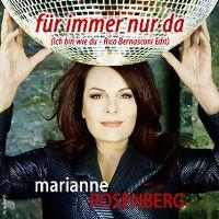 Cover Marianne Rosenberg - Für immer nur da