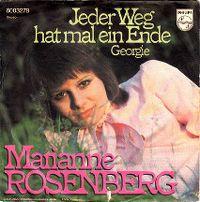 Cover Marianne Rosenberg - Jeder Weg hat mal ein Ende