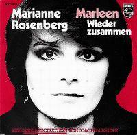 Cover Marianne Rosenberg - Marleen