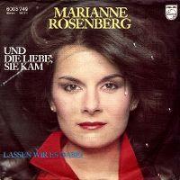 Cover Marianne Rosenberg - Und die Liebe, sie kam