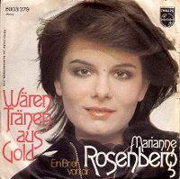Cover Marianne Rosenberg - Wären Tränen aus Gold