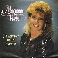 Cover Marianne Weber - Ik weet dat er een ander is