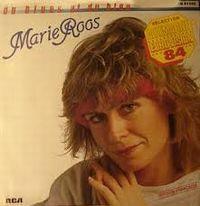 Cover Marie Roos - Du blues et du bleu