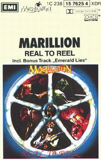 Cover Marillion - Real To Reel