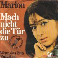 Cover Marion - Mach nicht die Tür zu