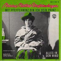 Cover Marius Müller-Westernhagen - Mit Pfefferminz bin ich dein Prinz